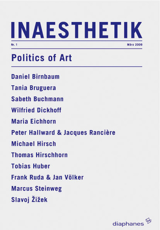Peter Hallward, Jacques Rancière: Politics and Aesthetics: an Interview