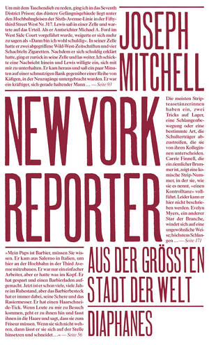 Joseph Mitchell: New York Reporter